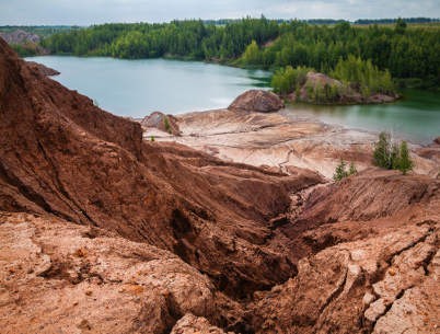 What are the different types of tailings storage facilities (TSF)?