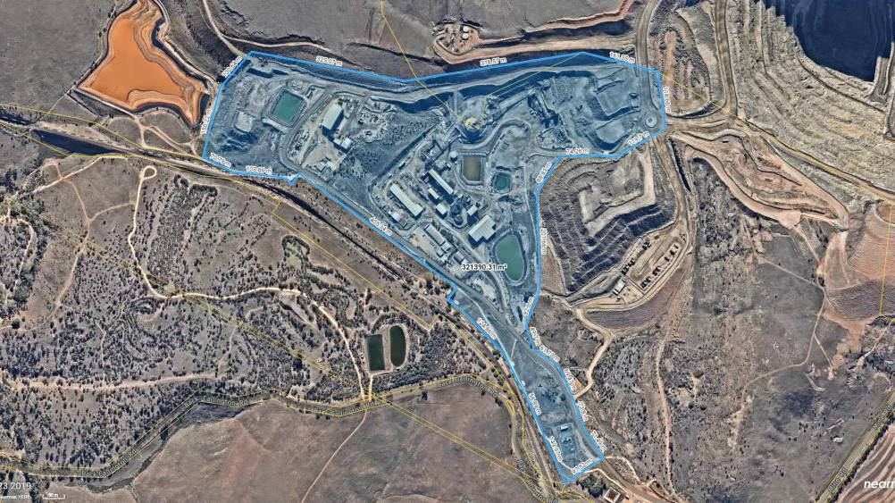 An Industrial park planned at the Kanmantoo mine site