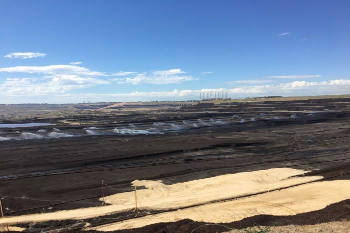 Latrobe Valley plans to rehabilitate open-cut coal mines into lakes