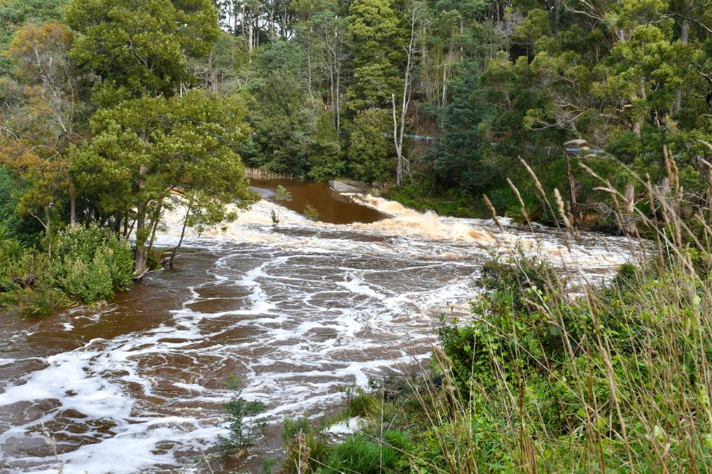 Mine tailings from the Kara Mine have entered into the Park River