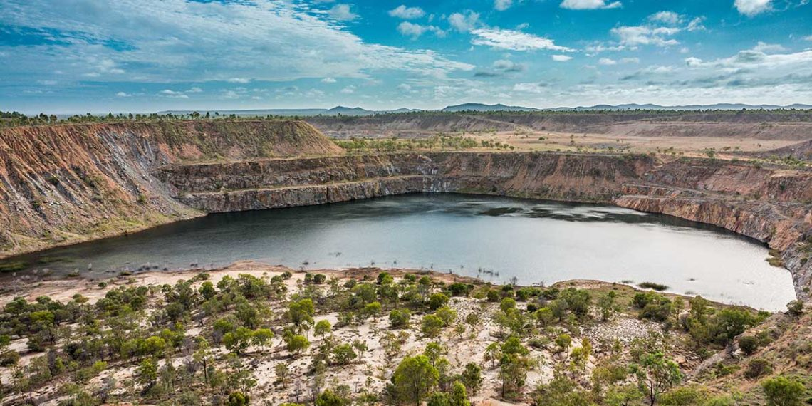 How an innovative Australian project is repurposing mine pits