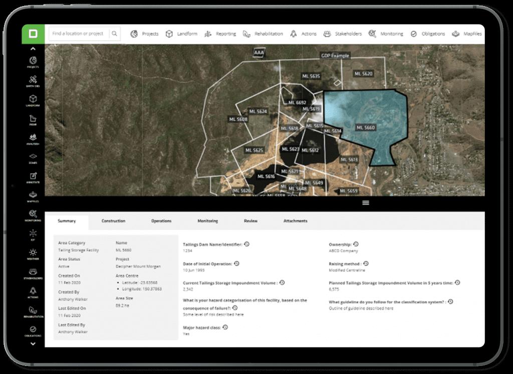 Tailings disclosure database - K2fly Dams & Tailings - GRID Arendal