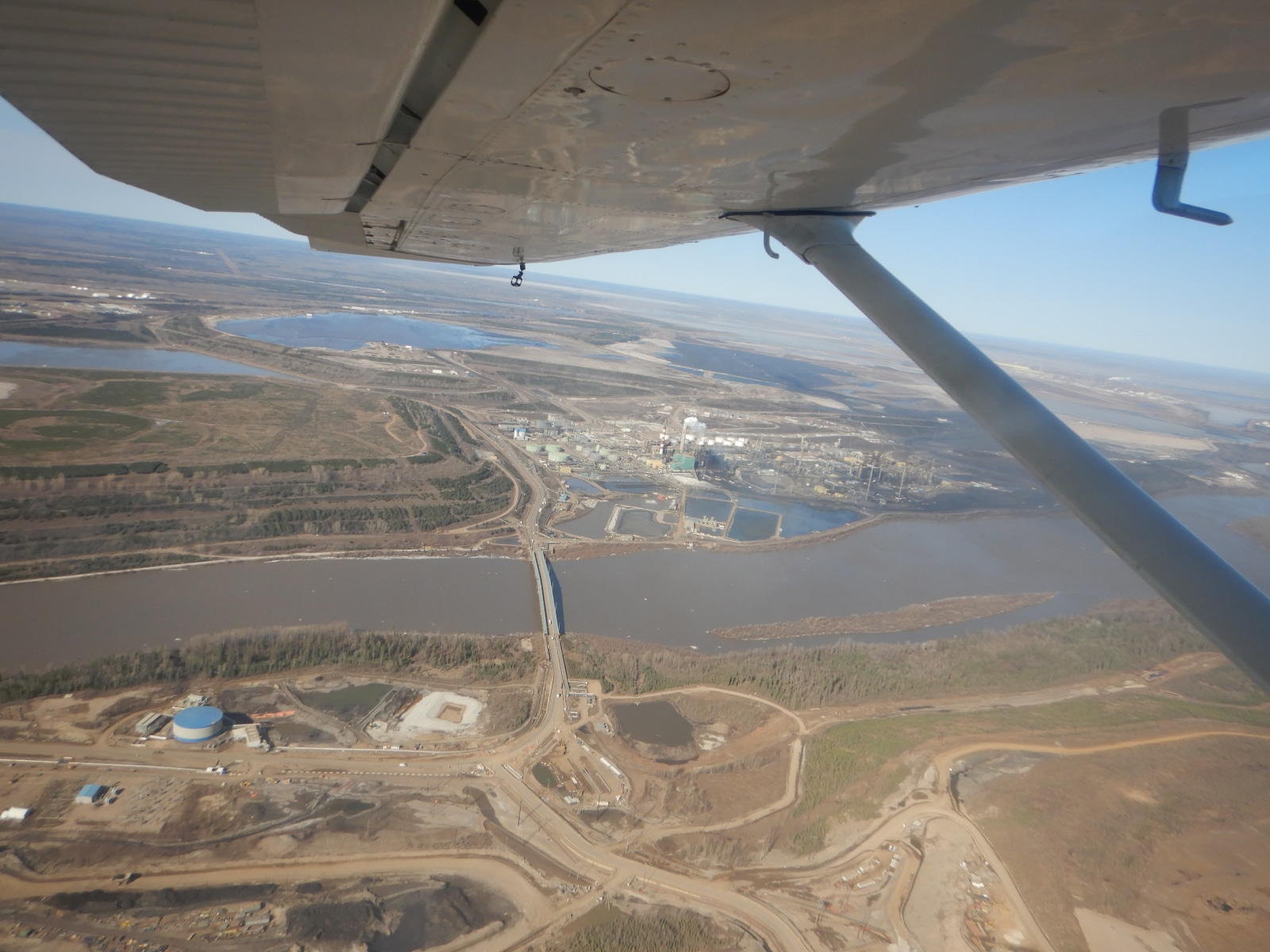 Athabasca River floods raise concerns for tailings dam