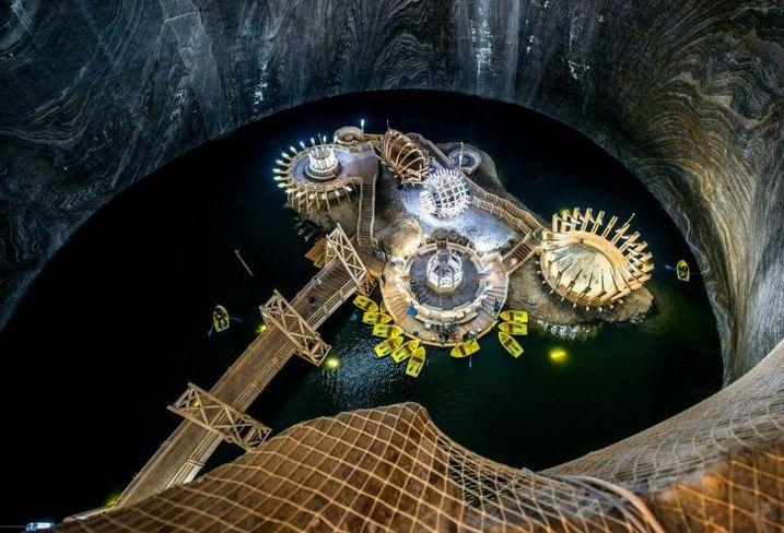 5 examples of extraordinary repurposed mine sites