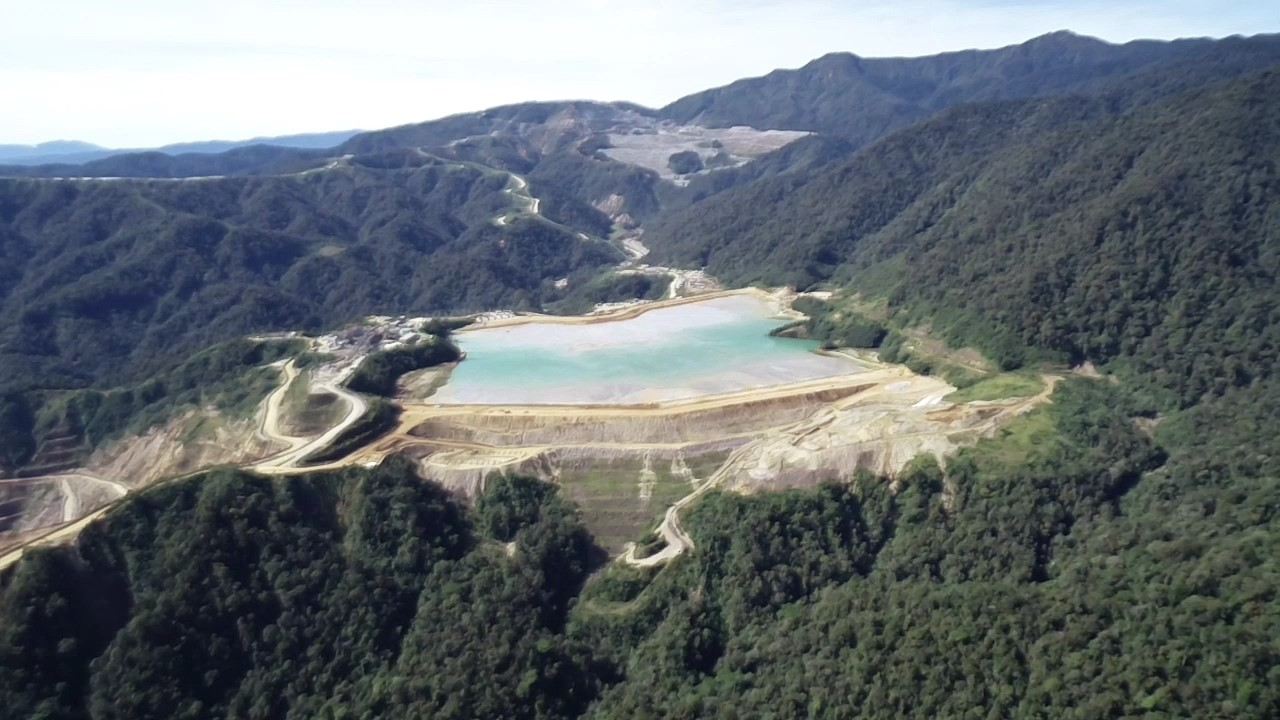 How drones are being used at Harmony's Hidden Valley Mine
