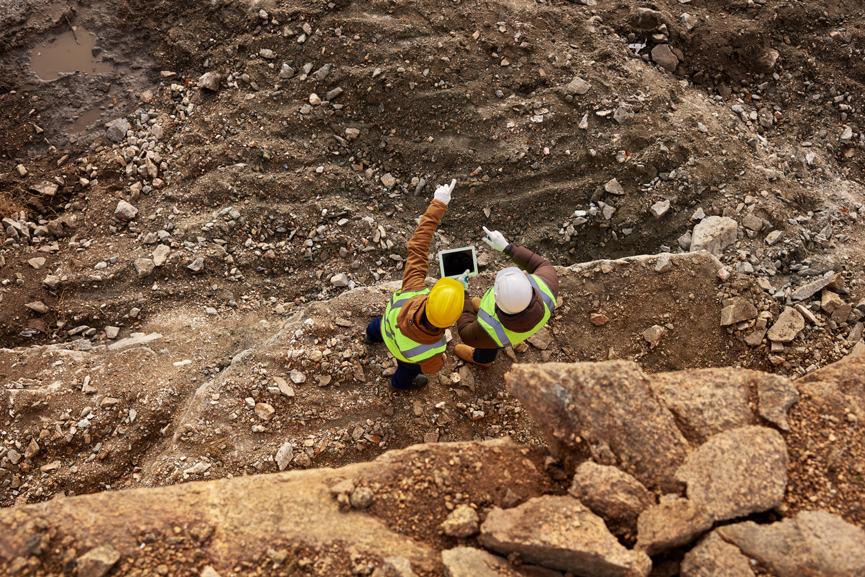 Legislation and compliance considerations for ground disturbance in mining